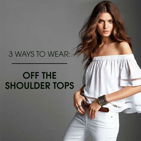 7 Ways To Wear Eyelet by How To Wear The Shoulder Posts The O Jays And The