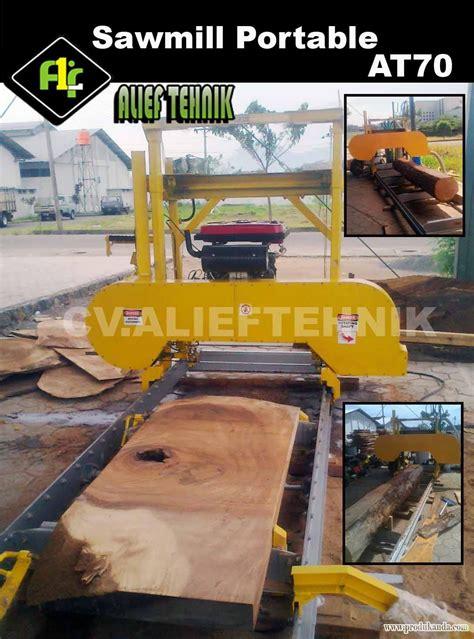 Gergaji Mesin Portable jual mesin sawmill portable harga murah bogor oleh cv