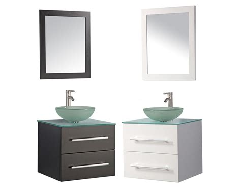 wall mounted sink vanity cuba 24 quot single sink wall mounted bathroom vanity set