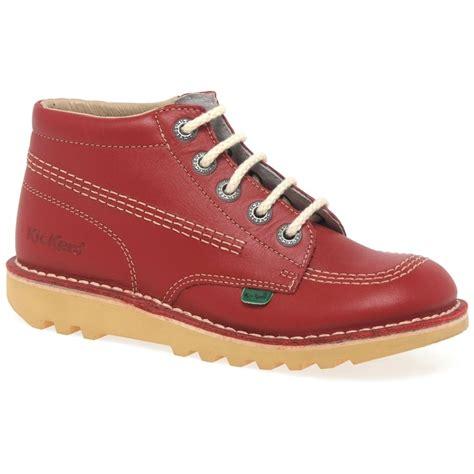 Sepatu Kickers Boots Sintetic Leather Termurah kickers chi ankle boots childs leather charles clinkard