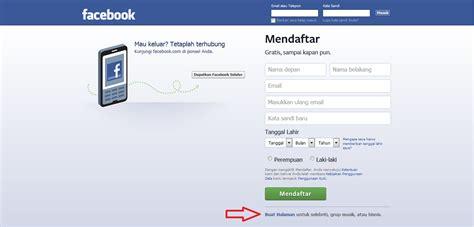 membuat web resmi cara membuat fans page di facebook smart to share