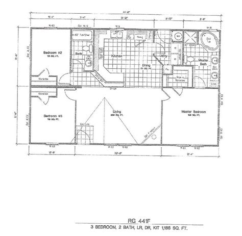 1998 fleetwood mobile home floor plans 28 images