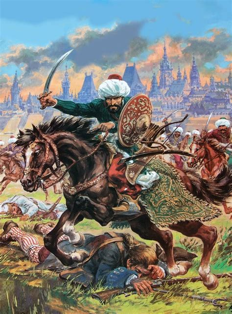 charge of the ottoman cavalry ottoman habsburg war