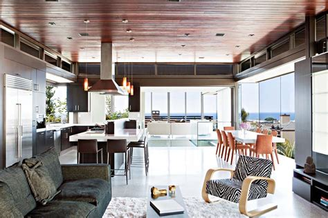 woodworking los angeles ca open plan living kitchen dining space exceptional glass