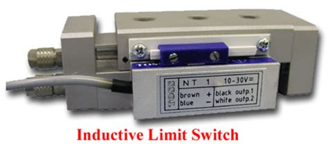 inductor limit switch toss pneumatic slide accessories