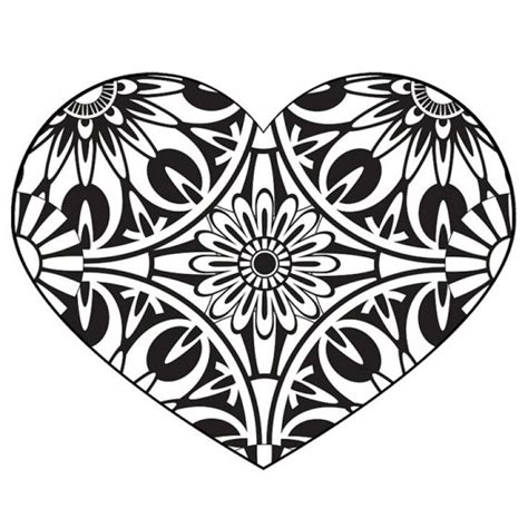 paisley heart coloring page 125 best abstract coloring pages images on pinterest