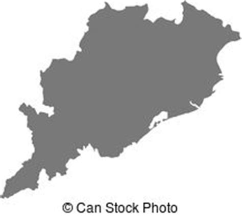 Odisha Map Outline by Orissa Vector Clipart Eps Images 39 Orissa Clip Vector Illustrations Available To Search