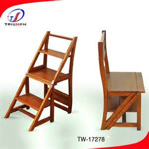 solide bois chaise pliante chaise d 233 chelle solide mariage