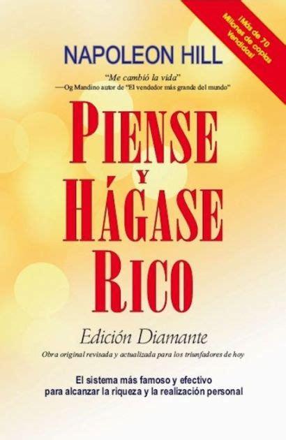 piense y hagase rico piense y hagase rico edicion diamante by napoleon hill nook book ebook barnes noble 174