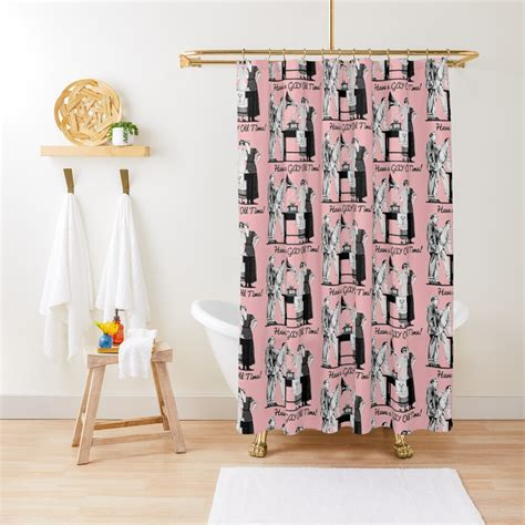 A Gay Old Time Shower Curtain By InkThinkArt Redbubble