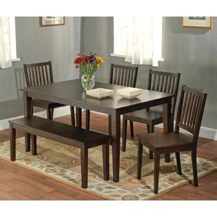 shaker dining set 6pc shaker dining set with bench