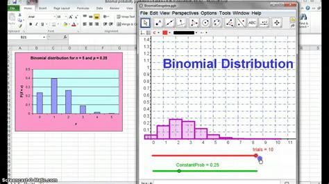 13stats 3 14 binomial geogebra youtube