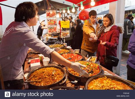 buy food buying food at a food stall exle of stock photo royalty