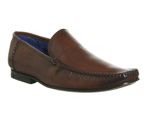 ted baker mens loafers ted baker bly 8 loafers in brown for lyst