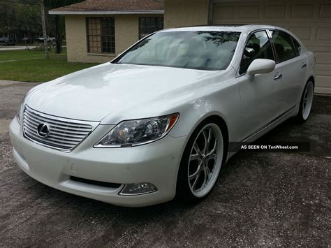 2007 lexus ls460 l sedan 4 door 4 6l