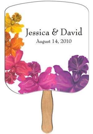 design your own church fans custom imprinted wedding fans