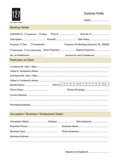 application for housing t27 lahore application form for booking real estate housing town planning news
