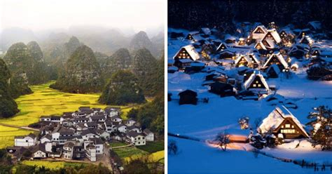 mesmerizing photos 24 mesmerizing photos of villages that look like they came