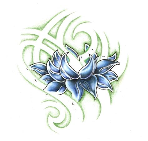 tattoo flash lotus ink tattoo flower tattoo by elaine currin