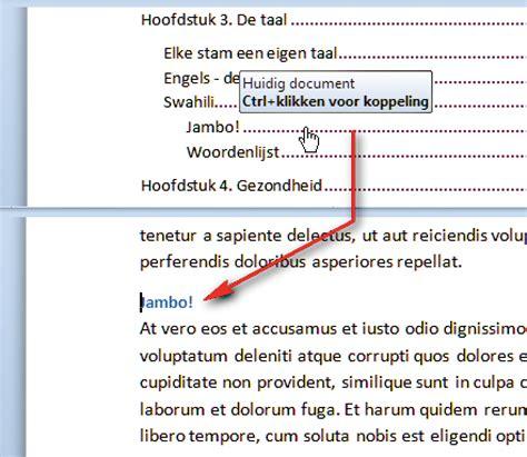 layout wetenschappelijk artikel automatische inhoudsopgave maken in word computer idee