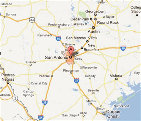san antonio in texas map pin texas road mapjpg on