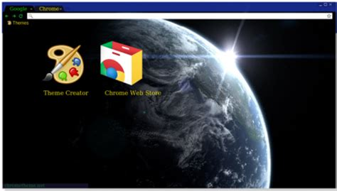 earth theme for google chrome 7 dark black chrome themes for google chrome brand thunder