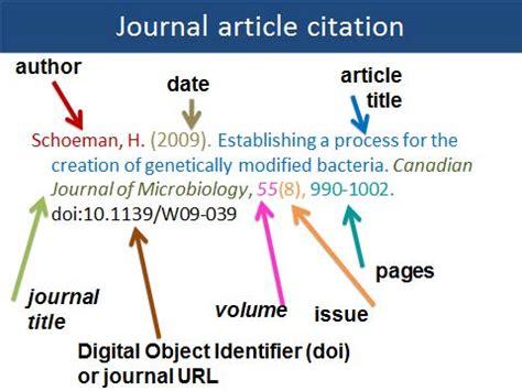 journal article   author  citation style