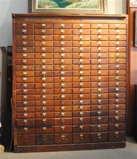 Vintage antique 114 drawer hardware general store