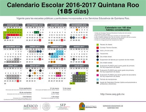 Calendario 2018 Mexico Sep Calendario Escolar Secretar 237 A De Educaci 243 N Y Cultura