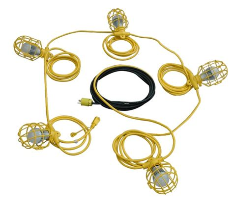 Temporary Construction Led String Lights Released By Construction String Lights
