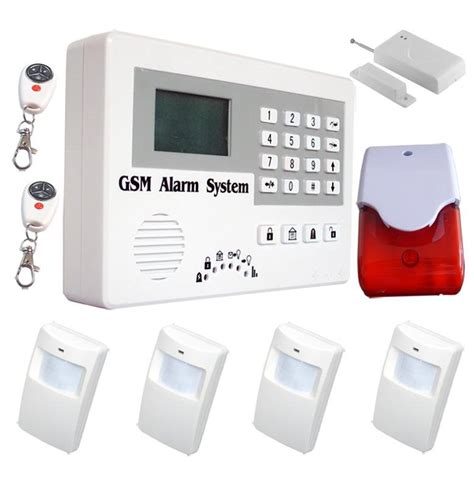 telephone wired wireless gsm alarm system senitro