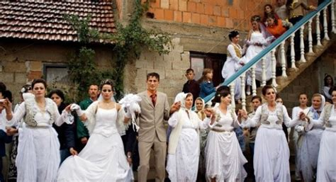 albanian bride bought    serb flees