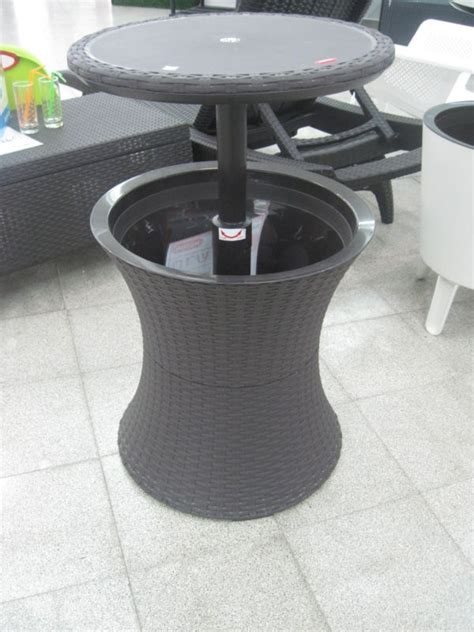 Cool Bar For Outdoor Patio Cool Ice Cooler Bar Table Blue Patio Cooler Table