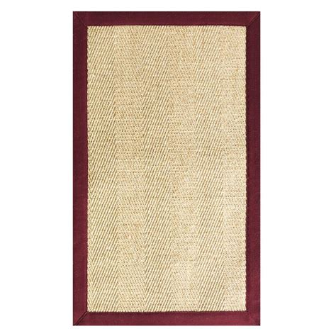 decorators collection rugs home decorators collection marblehead sisal black 8 ft x 10 ft 6 in area rug 0291040210 the