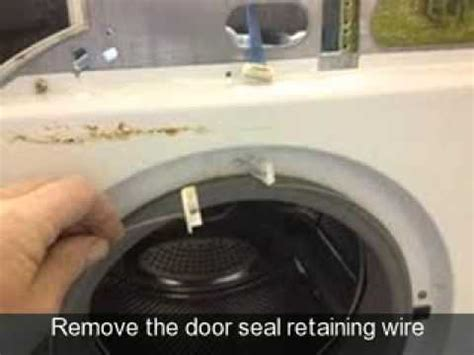 how to change the door seal on a washing machine hotpoint