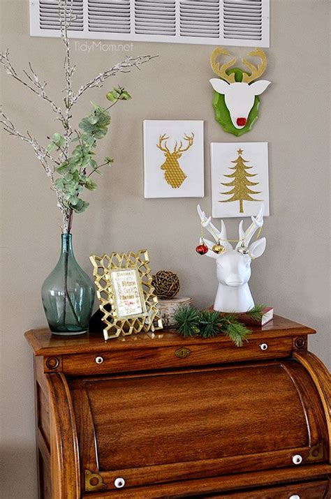 amazing diy christmas wall art ideas