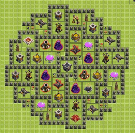 layout th9 home base th9 new base layout