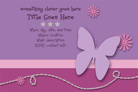 invites templates free scrappers delight free invitation templates