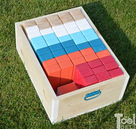 diy wooden games how to make a diy giant jenga game the idea room