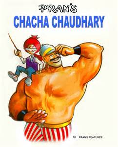 Exhibition of comics by mr pran 187 chacha chaudhary 2