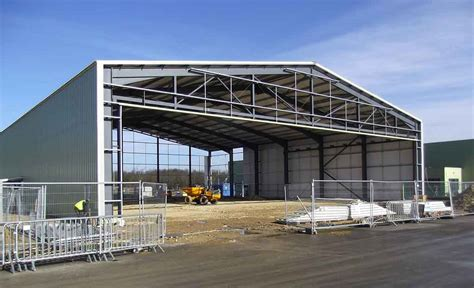 sectional steel sheds sectional concrete steel framed industrial buildings
