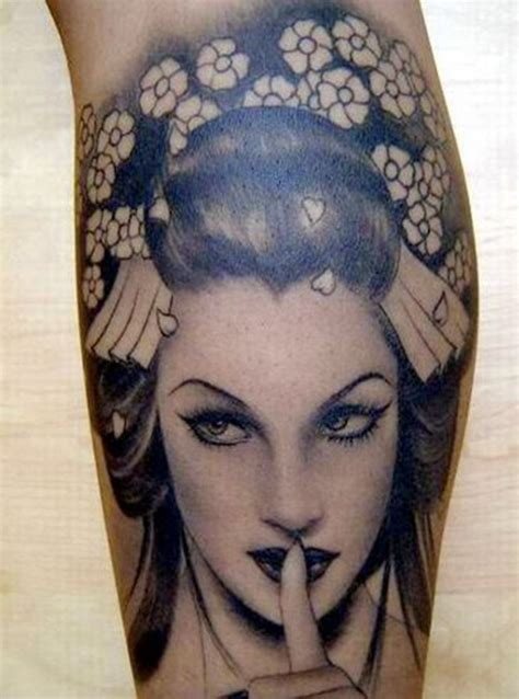 traditional japanese geisha tattoo meaning mind blowing geisha tattoos and meanings