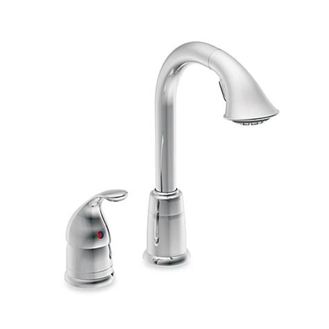shop moen camerist stainless 1 handle pull out kitchen moen 174 camerist pull out bar one handle kitchen faucet in
