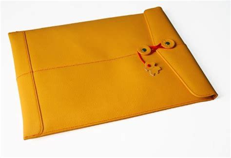 Aksesoris Yellow For Macbook Air 13 Inch civilian manila leather laptop sleeve for 13 inch macbook air and macbook pro yellow civilian