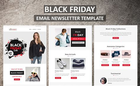 Black Friday Email Newsletter Template 65984 Black Friday Email Template