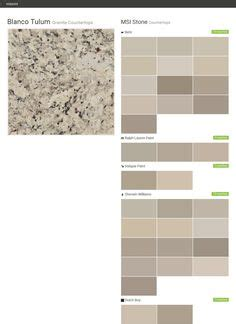 white granite valspar and the gray on