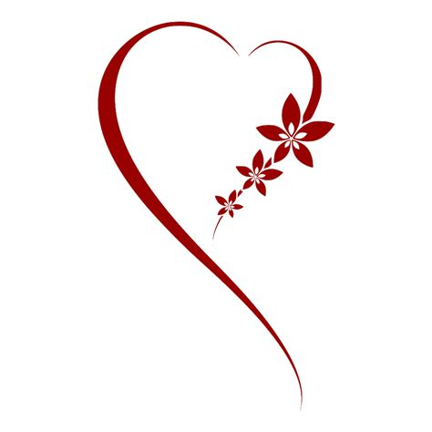 heart tattoo logo heart transparent clipart clipart kid hearts l ve