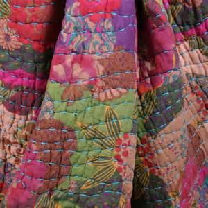 Reversible Quilts by Floral Cotton Reversible Quilt Set