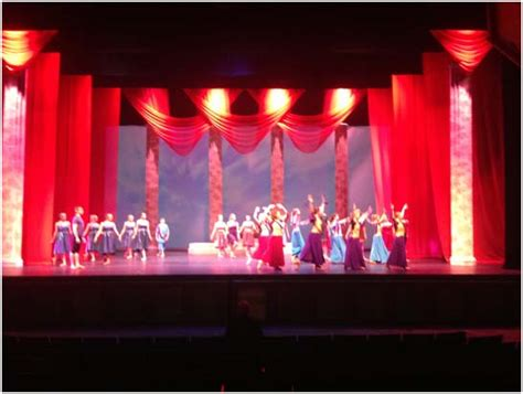 custom stage curtains draped sheers at lone star ballet sew what inc rent