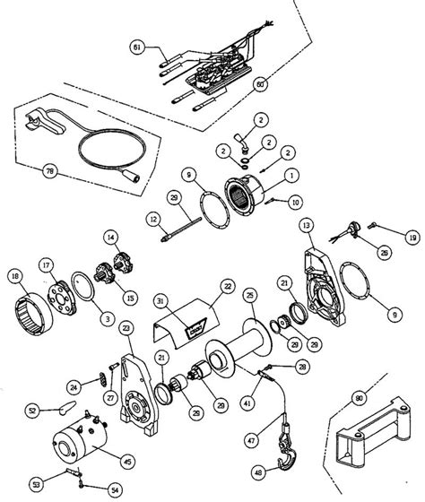 winch wiring diagram as well warn xd9000i warn winches